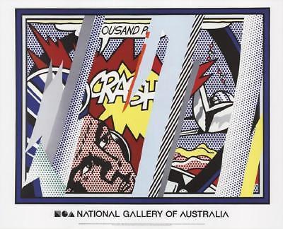 """Roy Lichtenstein, """"Crash"""", Limited Edition Lithograph"""