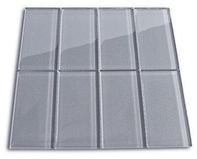 - Ice Glass Subway Tile 3x6 for Backsplashes, Showers & More - SAMPLE