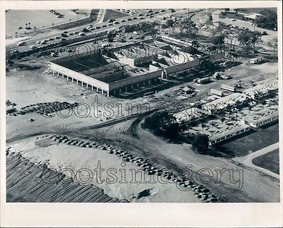 1972 Aerial Construction of Clearwater Mall Pinellas County Florida Press (Mall Clearwater)