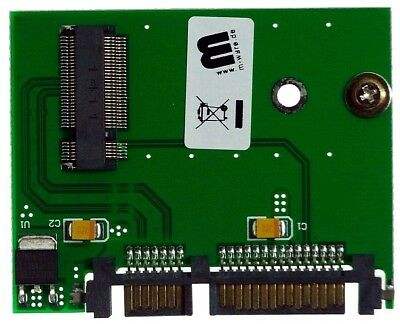 M-ware® Adapter NGFF M.2 Key B+M SSD zu 22pin SATA HDD ID14825