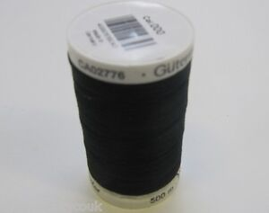 Black, White Or Cream Gutermann Sew All Thread 4 Sizes