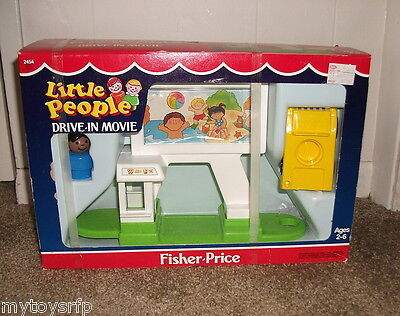 Fisher Price Little People #2454  Drive-In Movie  MIB on Rummage