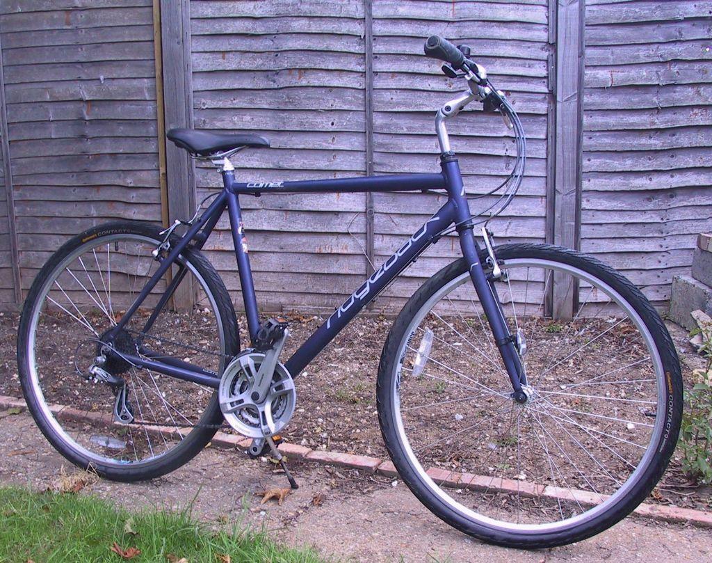 2014 Ridgeback Comet Mens Hybrid Bike 24 Gears 53cm 21inch Rbg1221