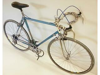 vintage Rotrax racing bicycle with campagnolo/mavic parts