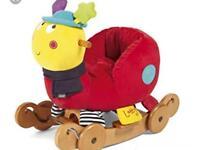 Kids caterpillar ride on rocket brand new