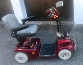 Shoprider midsize scooter TE888NR with charger and waterproof cover in excellent condition!!