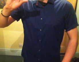 Zara brand new Navy Shirt