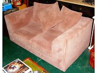 Sofa 2 seat with soft velour Ilkeston