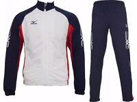 Mizuno Pro Team Tracksuit 60KK810-14 White/Navy/Red Brand New