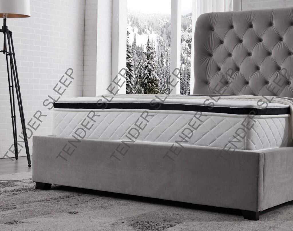 Pleasing High Quality Double Size Butterfly Ottoman Storage Bed Frame In Bromley London Gumtree Ocoug Best Dining Table And Chair Ideas Images Ocougorg