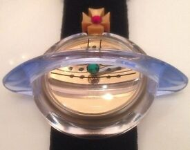From My Collection ~ As New Genuine Vintage Pop Swatch Watch The Orb by Vivienne Westwood