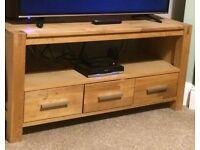Oak TV Unit / Side Unit
