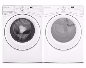 White Washer-Dryer Combo, Gaz, WHIRLPOOL