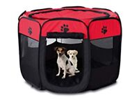 Small pop up puppy play pen