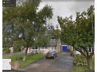 3 Bedroom house in Fulwood with front back / garden in quite residential area. Unfurnished.