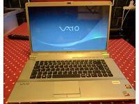 Sony PCG-3F1M 400GB HDD 4GB RAM Laptop