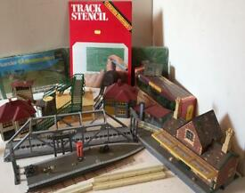 OO gauge Model Railway buildings, accessories scrapyard useful 4 scratchbuild