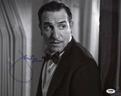 Jean Dujardin The Artist Signed Authentic 11X14 Photo Autograph PSA/DNA #Q85497 Artist Signed Autograph Photo