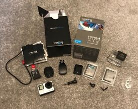 GoPro 4 Silver - Built in touch display, 1080 fps, built in wifi