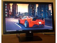 "HP 22"" Full HD LED Monitor (DVI+VGA) 1080p , Slim Monitor for desktop/cctv..."