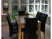 Extending Dining Room Table And Chairs