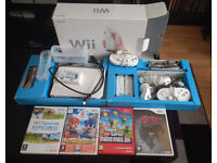 [REDUCED] Boxed Nintendo Wii with controllers, HDMI converter/cable and games