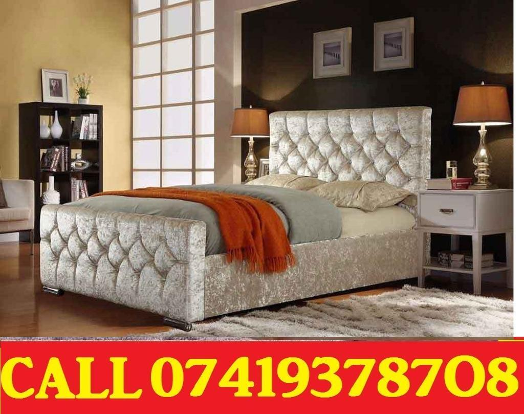 Amazing Offer CRUSH VELVET SINGLE DOUBLE KING SIZE MEMORY FOAM DESIGNERBeddingin South East London, LondonGumtree - SALE SALE SALE....EXTREME Quality Furniture like Divan and Leather Base available contact us