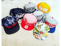 8x Hats - Snapback - Baseball Caps buy 8 for only £49