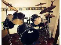 Pearl drum kit for sale - £180