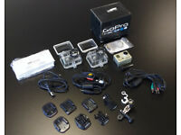 GoPro HD HERO with Accessories and Spare Housing