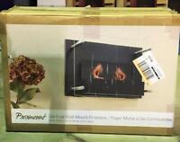 NEW Paramount Indoor Gel Fuel Wallmount Fireplace MSRP $ 249