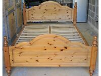 Ducal Pine Double Bed Furniture