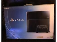 Playstation 4 500GB Console, boxed like new