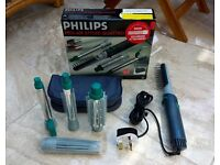 Phillips unused Pro-Air Quattro Hair Styler with added Volumiser Attachment.