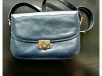 Blue leather Russell and Bromley Purse