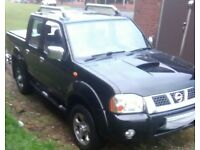 May px cash either way for car or sell Nissan Navara outlaw full service history long mot mint 4x4