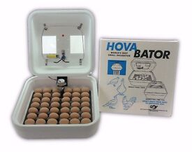 Incubator in box, used once