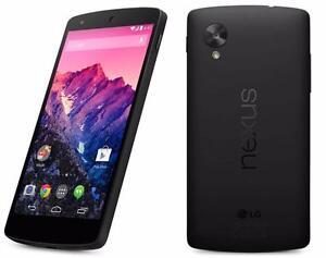 NEXUS 5 BLACK 16GB FACTORY UNLOCKED SMARTPHONE 30 DAYS WARRANTY