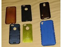 Bundle of 6 cases – iPhone 5 / 6 , Samsung, Sony