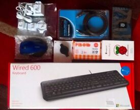 Comprehensive Raspberry Pi 2 Starter Kit with SLR camera carry bag - BRAND NEW