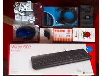Comprehensive Raspberry Pi 2 Starter Kit with SLR camera carry bag - BRAND NEW