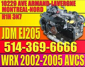 2002-2003-2004-2005 Subaru impreza WRX Moteur JDM EJ205 Turbo EJ20, JDM WRX ENGINE LONG BLOCK