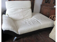 Funk-A in Bungay Leather Chaise Lounge/ Sofa ref 10/32