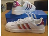 Brand new adult adidas trainers