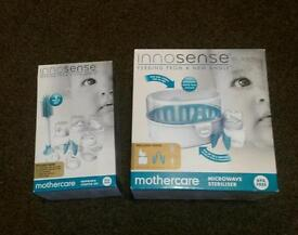 Mothercare microwave steriliser and bottle set new in box