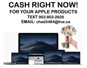 CASH RIGHT NOW!!$$ For your Macbook Pro, Air, iMac $$ SAME HOUR!