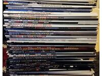 60 issues of DRUMMER magazine + Other Drum Magazines For Sale