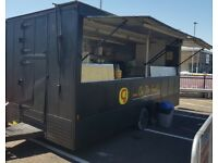 Burger Van, Catering Trailer with licensed pitch for sale