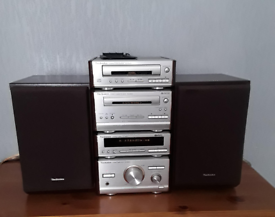 Technics HD 501 separates system with Bluetooth adapter