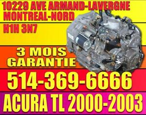 01-02-03 Acura TL Type S Automatic Transmission, Transmission Automatique Acura TL 2001 2002 2003 3.2 V6